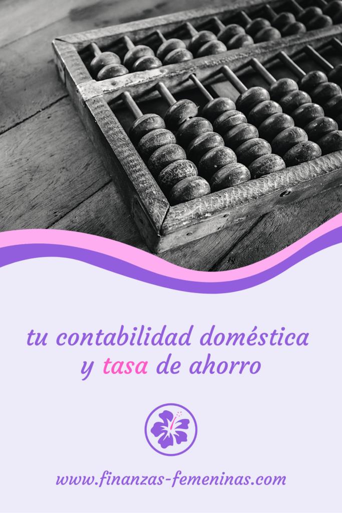 tu contabilidad domestica y tasa de ahorro - finanzas femeninas